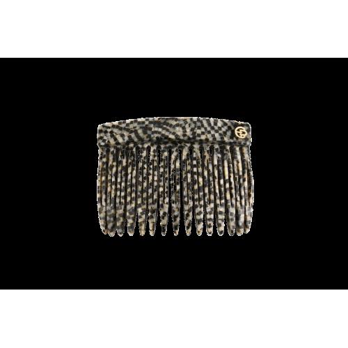 50309-600 Гребень Hair Comb Black and white