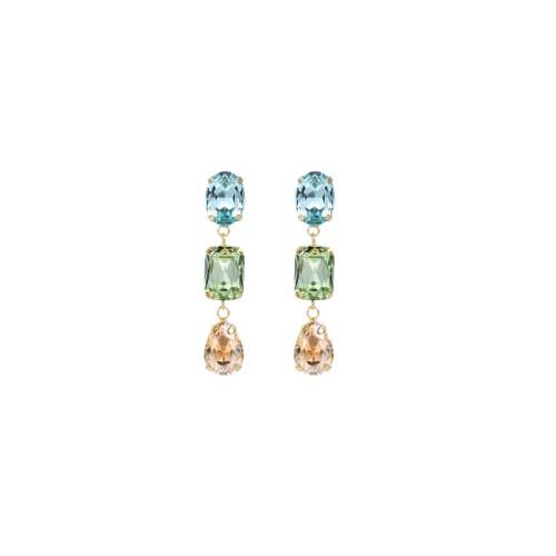 10696-660 Серьги Earring 2 MIx color