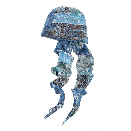 31647-816 Шарф Scarf hat Aqua Blue